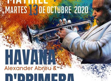 Специальный подарок для всех фанатов творчества Alexander Abreu Manresa Nasce & Havana D'Primera