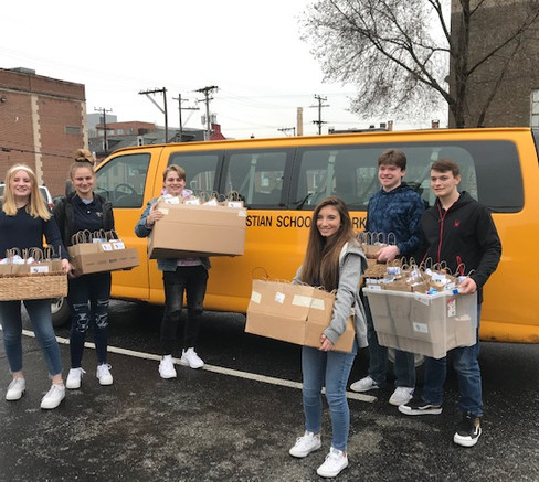 Christian School of York - Totes of Love Service Project