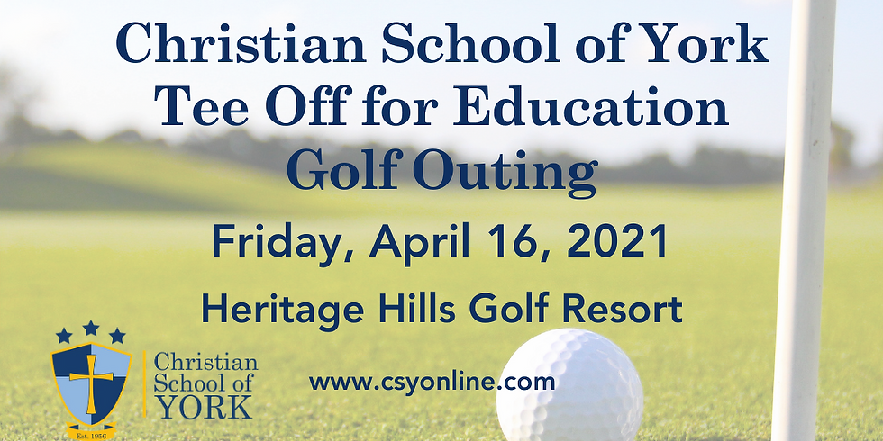 CSY Tee Off for Education Golf Outing