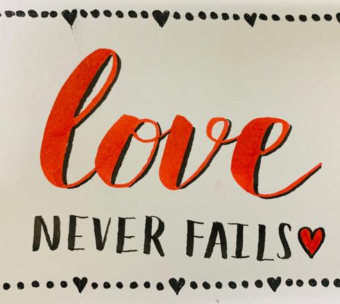 Lover Never Fails artwork