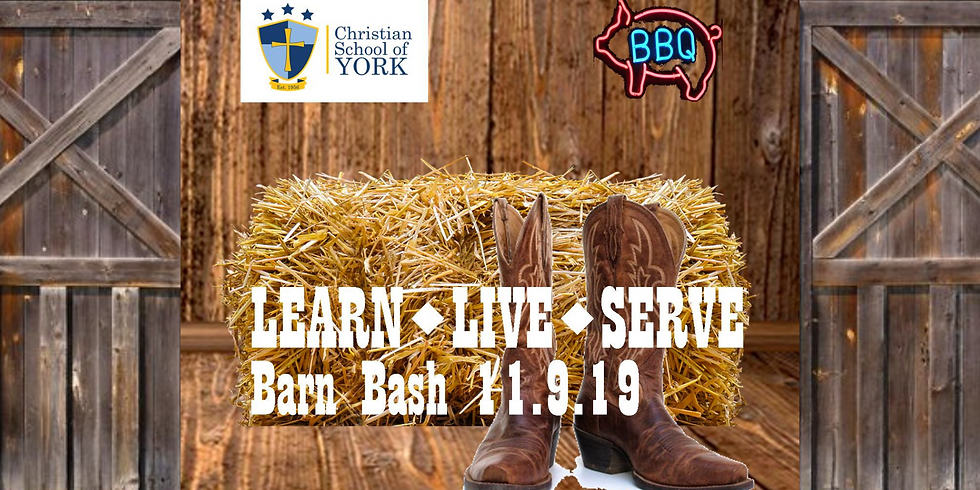 CSY LEARNLIVESERVE BARN BASH