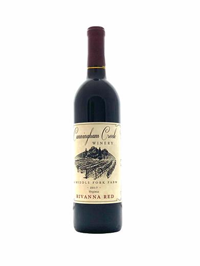 rivana red cunningham creek winery