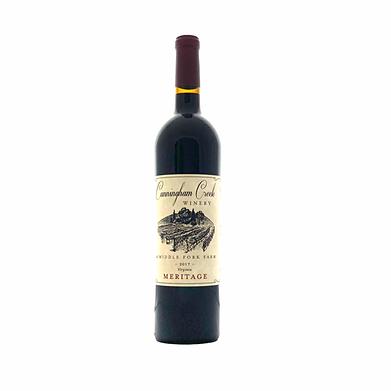 Meritage wine by cunningham creek winery