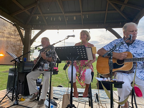 Local Vocals band playing on stage