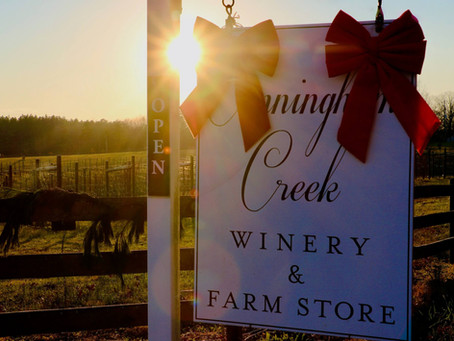 Cunningham Creek Winery, a family enterprise in the midst of Virginia's wine country