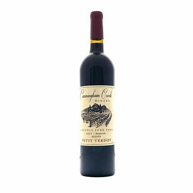 petote verdot wine from Cunningham Creek