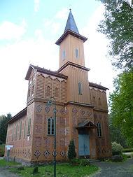 Mecklenburgische Seenplatte: Kirche in Dabelow
