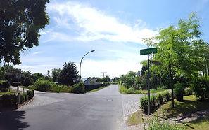 Bezirk Berlin-Heinersdorf, Schild
