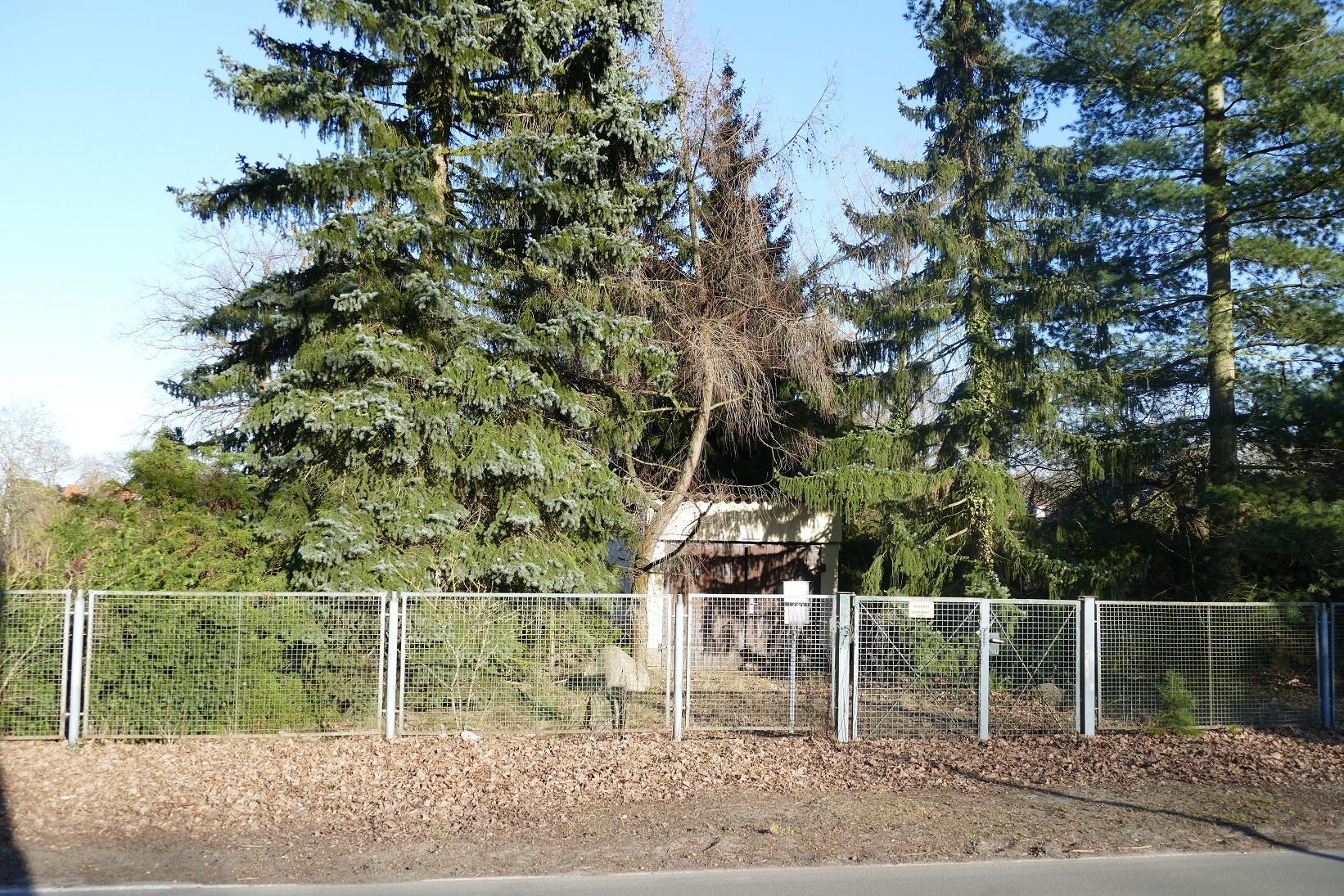 Außenansicht Grundstück Schöneiche