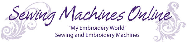 Sewing Machines Online Header