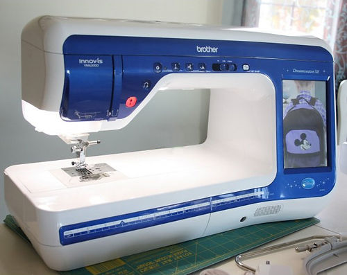 Brother VM6200D Embroidery Machine