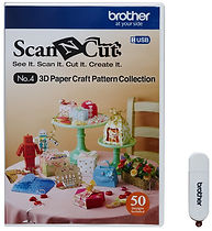 Brother ScanNCut 3D Paper Craft Patterns