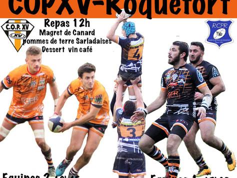 Dimanche 15 Décembre 2019 COPXV - R.C.P. Roquefort