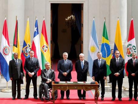 Integração na América do Sul: o caso estrutural da UNASUL e PROSUL