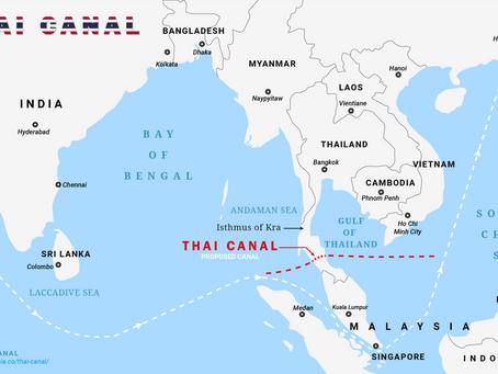 """Canal do Kra: O """"canal de Suez"""" asiático"""