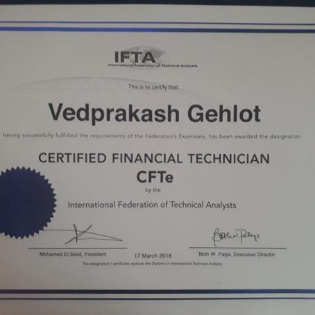 Certified Financial Technician (CFTe) with MFCS