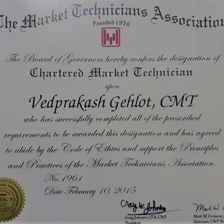 Are You Ready For Chartered Market Technician (CMT) ? If Not Than We Are Here For you...