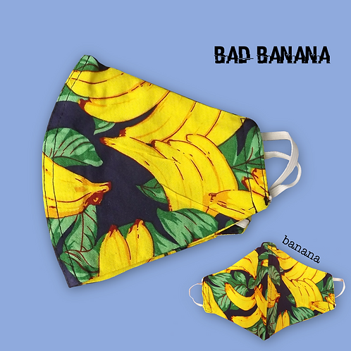 Funky Face Mask - Banana