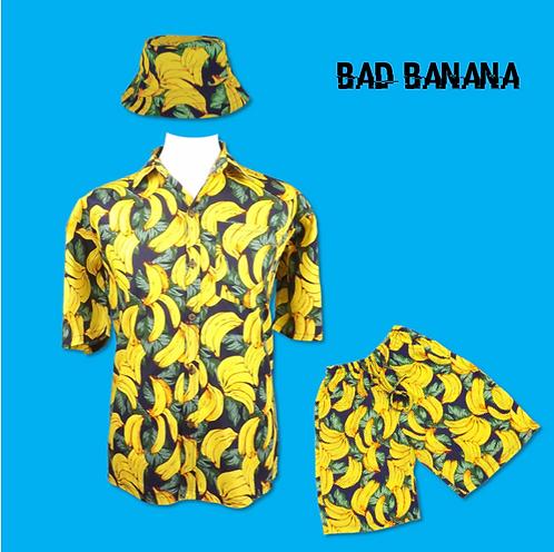 Mens Banana Rave Festival Outfit
