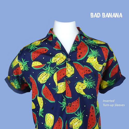 Men's Tutti-Fruity Hawaiian Shirt - High Quality