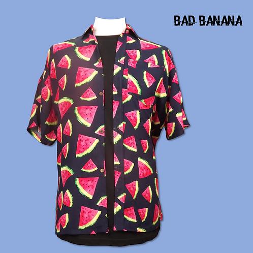 Men's lightweight Watermelon Hawaiian Festival Shirt