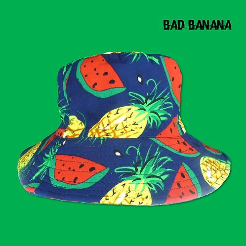 Watermelon + Pineapple Bucket Hat