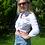 Thumbnail: Women's Western Festival Shirt - Rose - Size 10