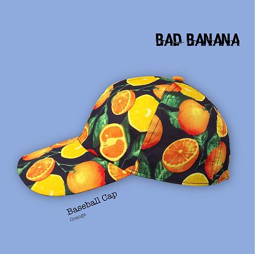 Fruity Baseball Cap - Orange