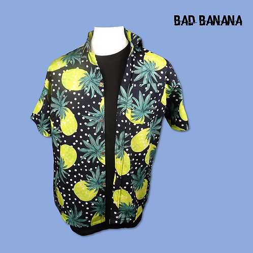 Men's lightweight Pineapple Hawaiian Festival Shirt
