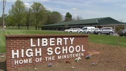 Liberty High School Sign