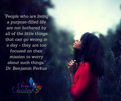 purpose driven life AFT