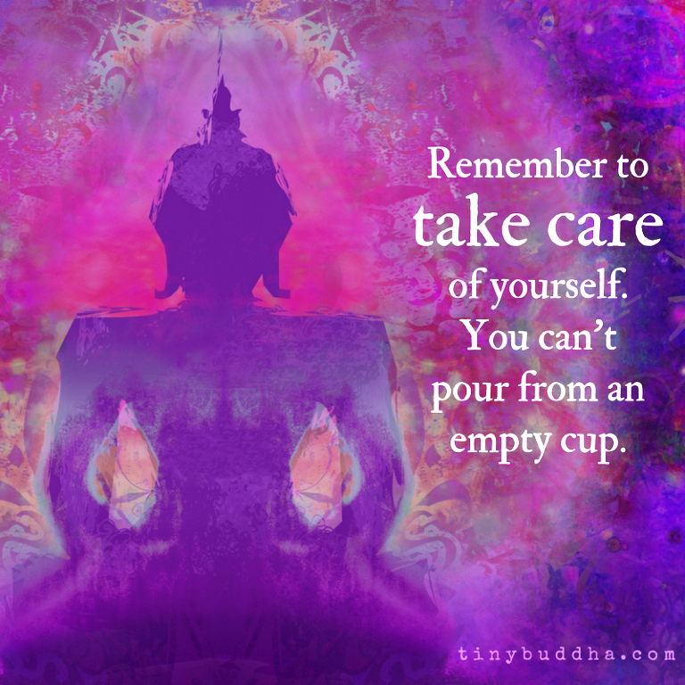 Self Care - Empty Cup