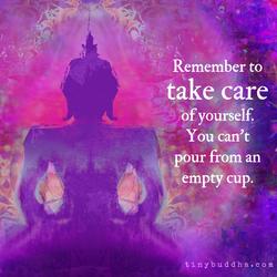 Self Care - Empty Cup