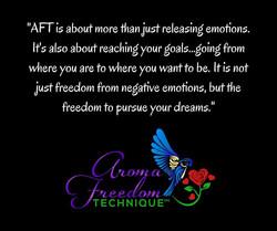 AFT release emotions and set goals