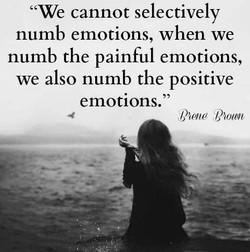numb emotions