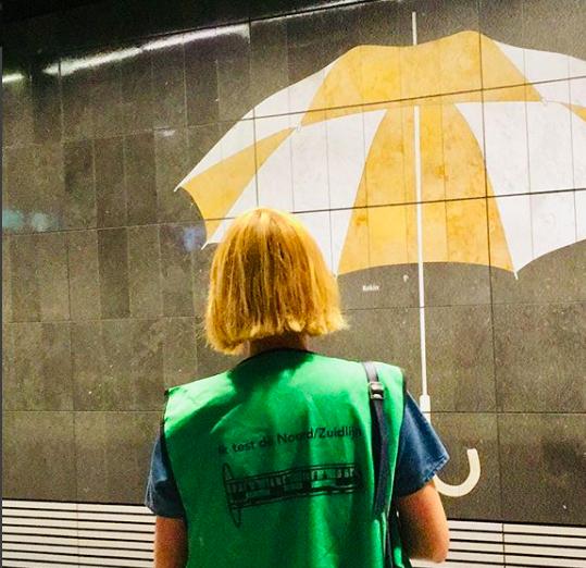 metrokunst noord-zuidlijn