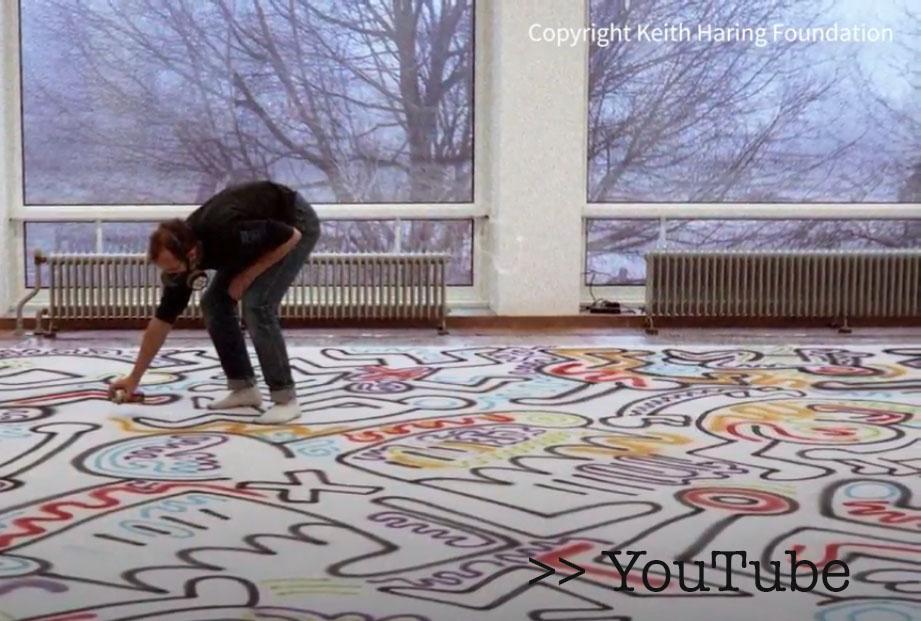Keith Haring in het Stedelijk Museum