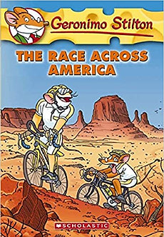 GERONIMO STILTON #37 THE RACE ACROSS AMERICA