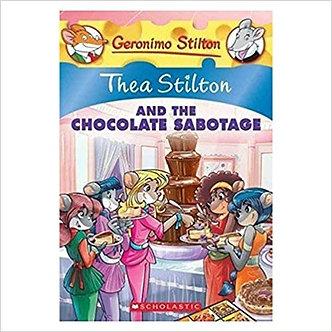 Thea Stilton#19 Thea Stilton And The Chocolate Sabotage