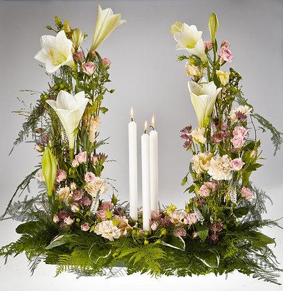 Hög Begravningsdekoration 6