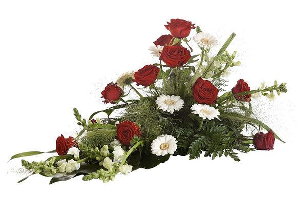 Låg begravningsdekoration2