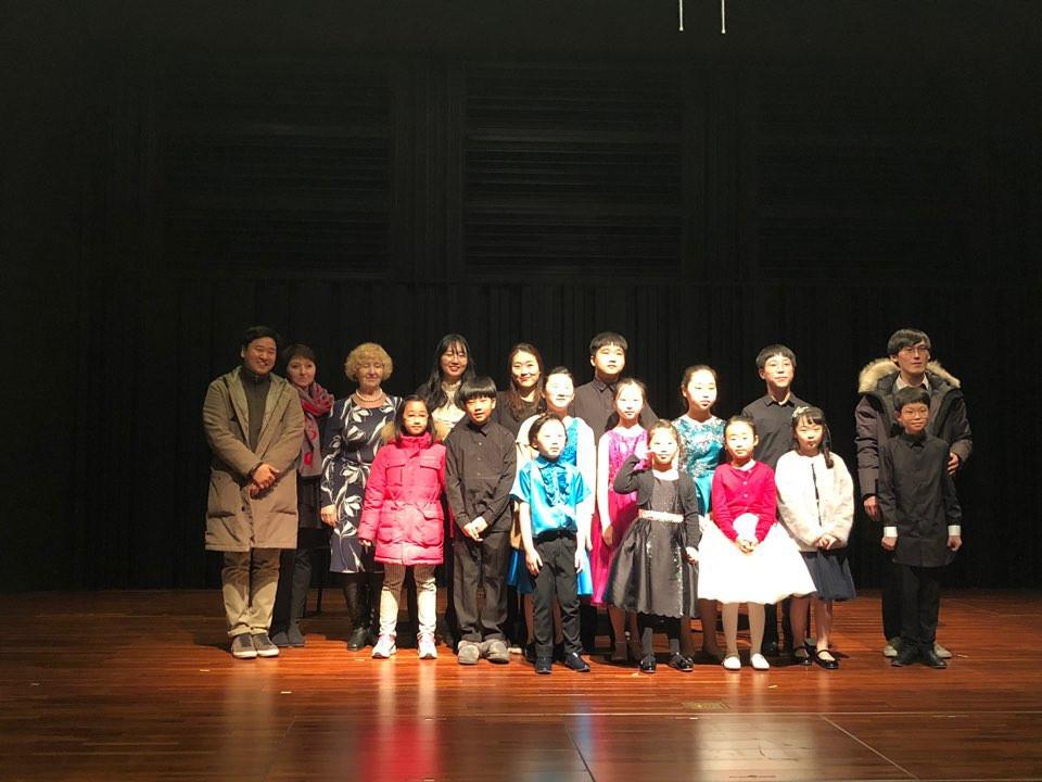 2019 Prof. Jaehong Park Class Concert