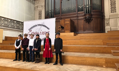 2018 Grumiaux International Competition 1st Price Sungwoo Lee and Eunseo Jo
