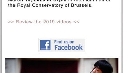 2019 Grumiaux International Competition in Brussel