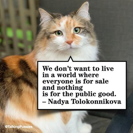 Nadya Tolokonnikova ENG