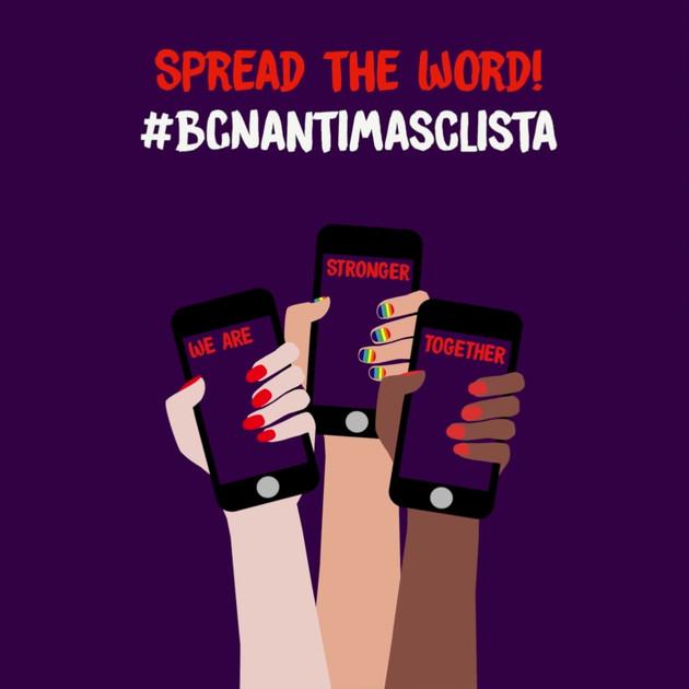 Vídeo APP #BCNAntimasclista ENG