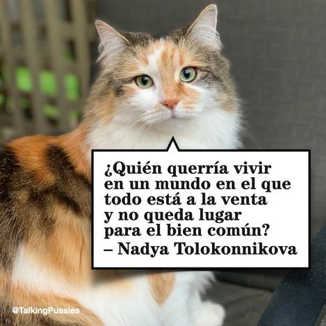 Nadya Tolokonnikova ESP
