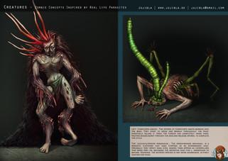 Concept Art - Kreaturen und Zombies