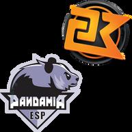 """Logos für die E-Sport Teams """"23 K-Gaming"""" und """"Pandamia"""" Erstellt mit Adobe Illustrator."""