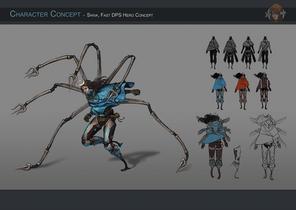 Character Concept - Shiva, Asian Avengers